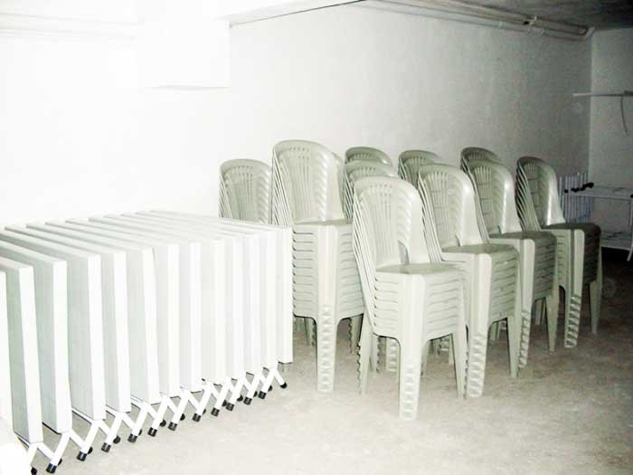 Plastik masa sandalye kiralama fiyatları